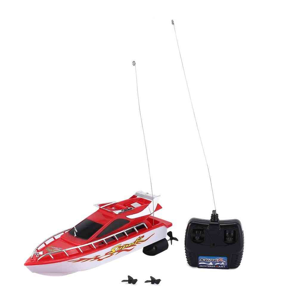Mini Radio Remote Control, High-speed Racing Boat Toy For Kids