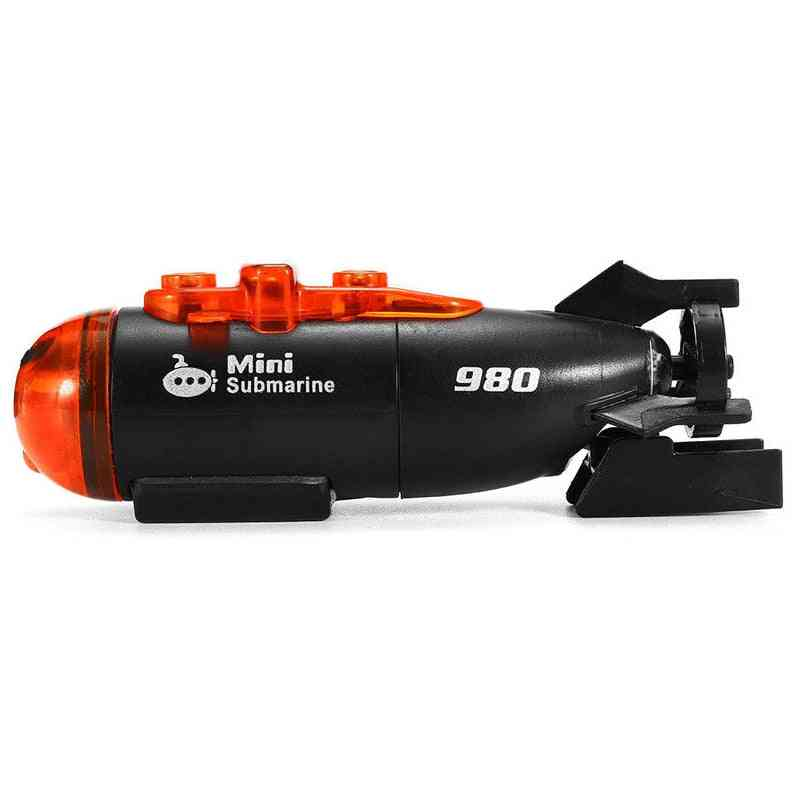 Mini Micro-radio Remote Control Submarine With Led Light Toy