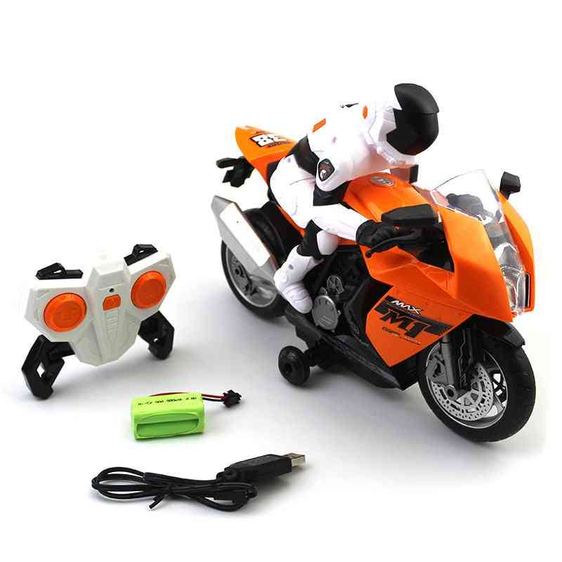 Remote Controlled Mini Motorcycle Toy For
