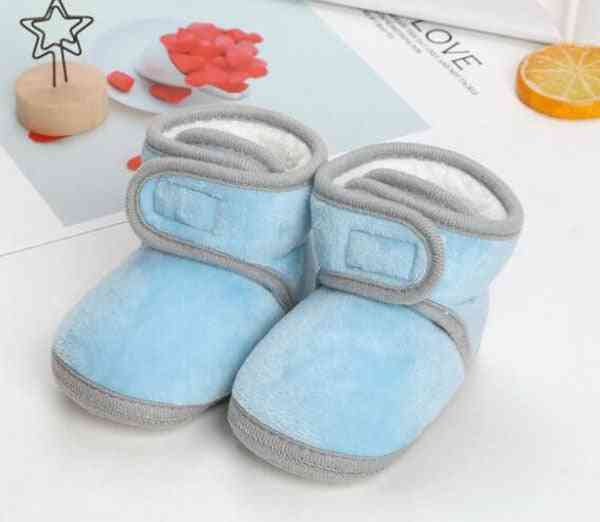Baby Boots, Infant Ankle Prewalkers Crib Nonslip Winter Shoes Warm Sand