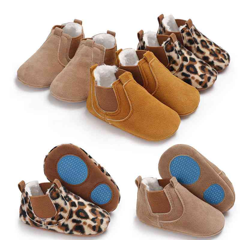 Baby Soft Sole Leather Anti-slip Shoes