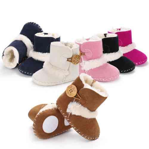 Baby Shoes, Prewalker Crib Plush Boots