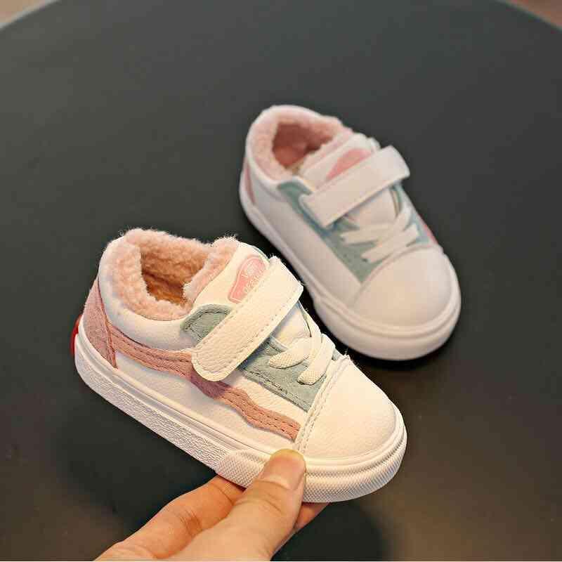 Girls Winter Warm Velvet Shoes