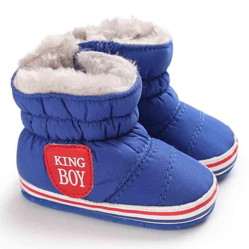 Girl & Boy Snow Shoes, Winter Newborn Boots