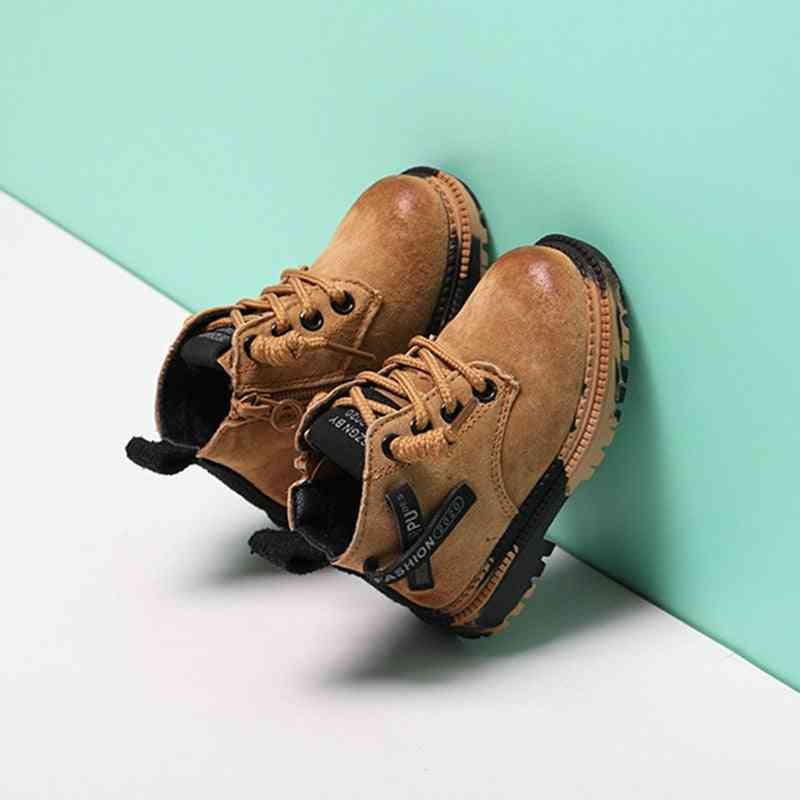 Leather Sneakers, Motorcycle Boots / Winter Shoes