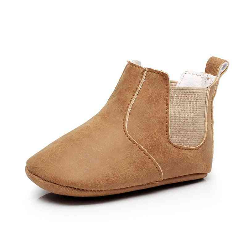 Baby Leather Boots, Infant Step First Walkers