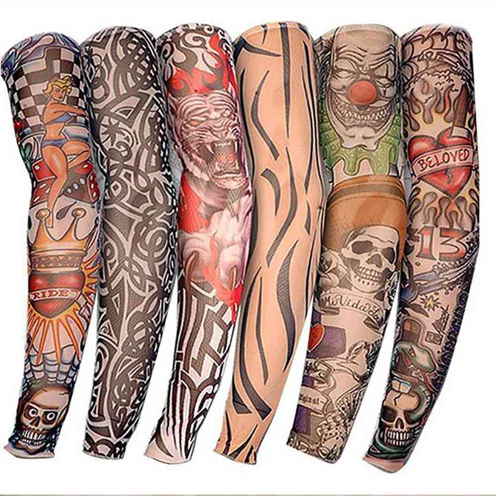 Cycling Bike Cuff Sleeve Cover Uv Sun Protection Basketball / Volleyball Running Arm Warmers