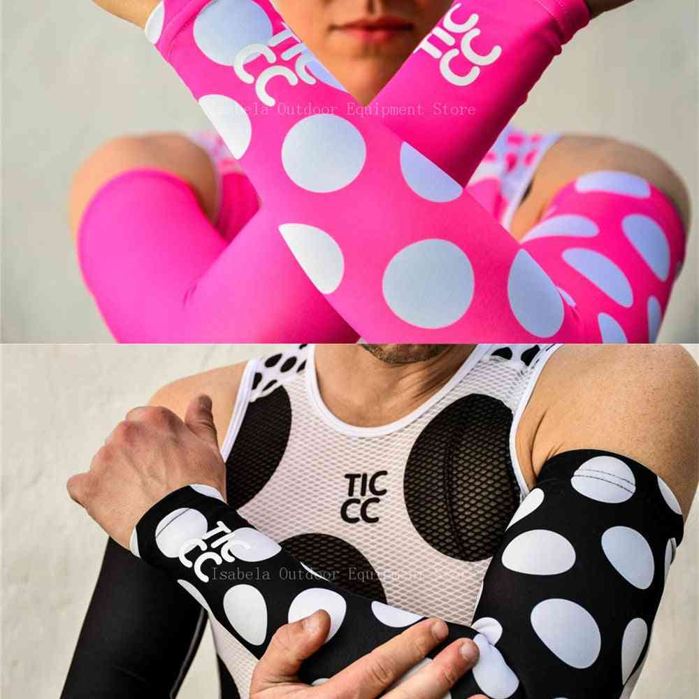 Breathable Quick Dry Uv Protection Running Arm Sleeves Basketball Elbow Pad