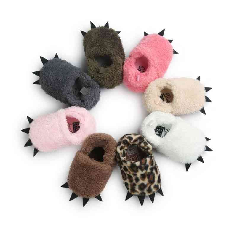 Winter Warm Baby Boots, Monster Claw Moccasins Shoes