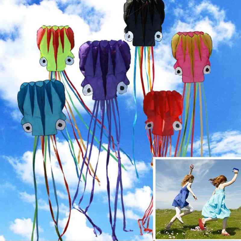 Octopus Design Fold-able Flying Kite