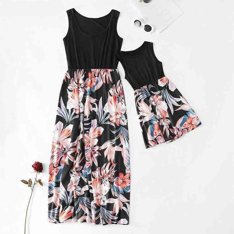 Women & Dress, Sleeveless Family Matching Clothes