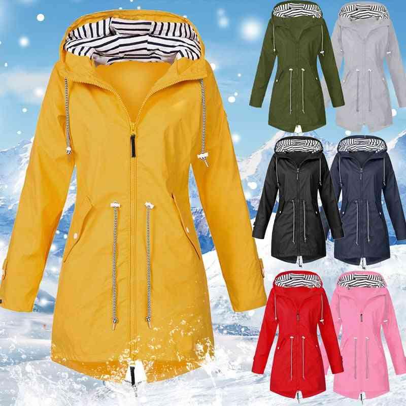 Women Jacket, Windproof Cotton Padded Autumn & Winter Coat