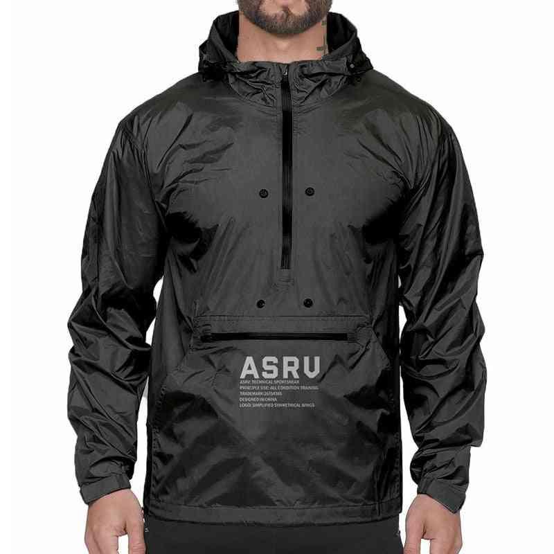 Men Sports Hooded Autumn Outdoor Hiking Coats