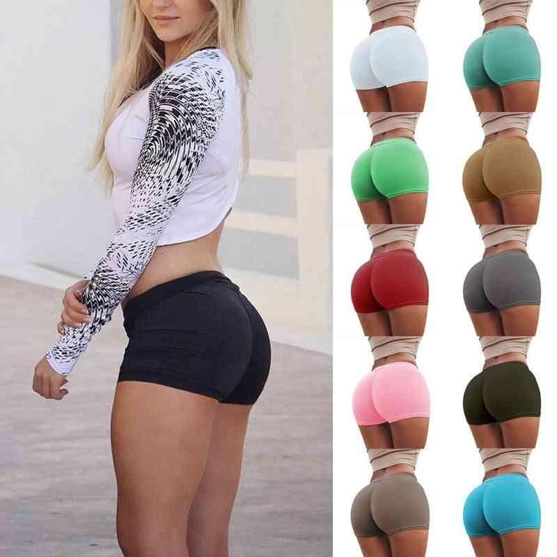 Women Sexy Cotton Push Up Short Tights