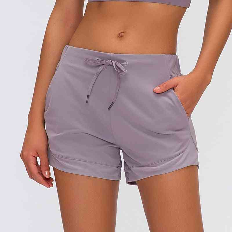 Buttery-soft Loose Fit Sport Training Women Shorts