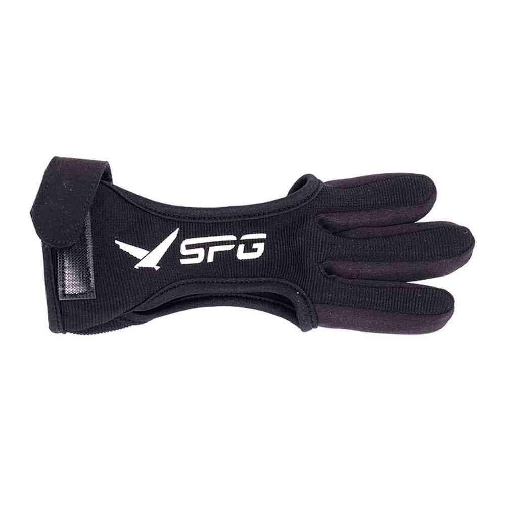 3-finger Archery Protective Gloves