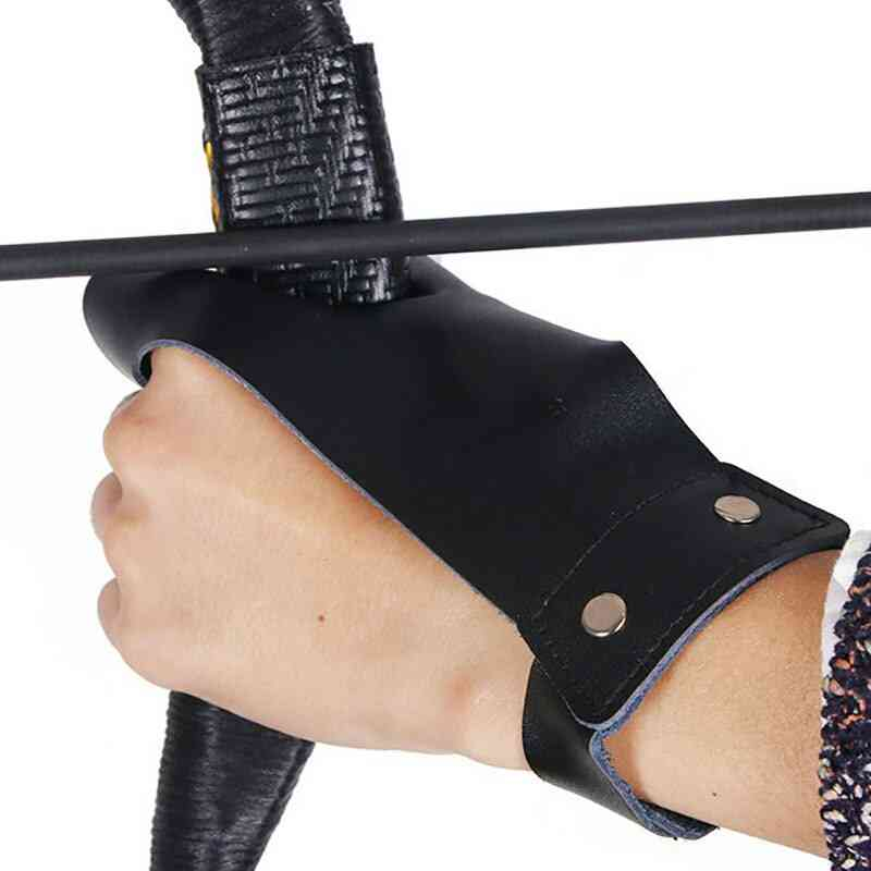 Left Hand Archery Protector Glove And Finger Guards