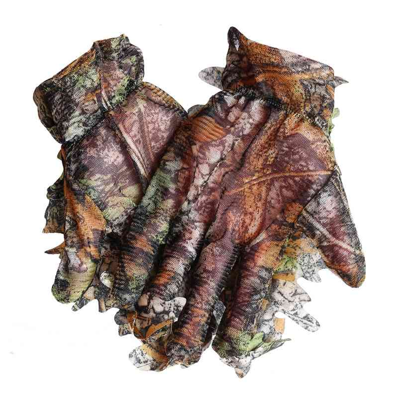 Quick Dry Camouflage Hunting Gloves