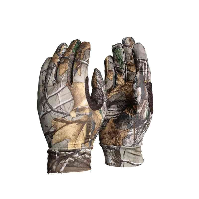 Anti-slip Touch Screen Hunting Gloves- 3d Camouflage