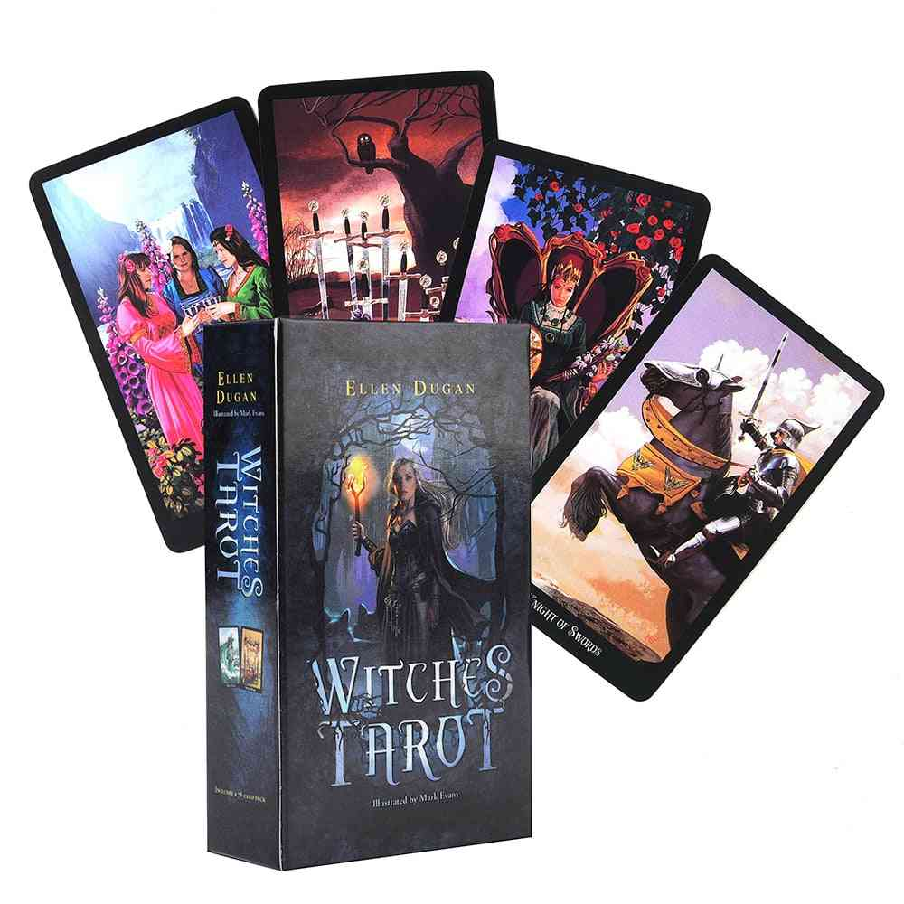 Witch Tarot Deck 78 Forecasting Cards-board Game