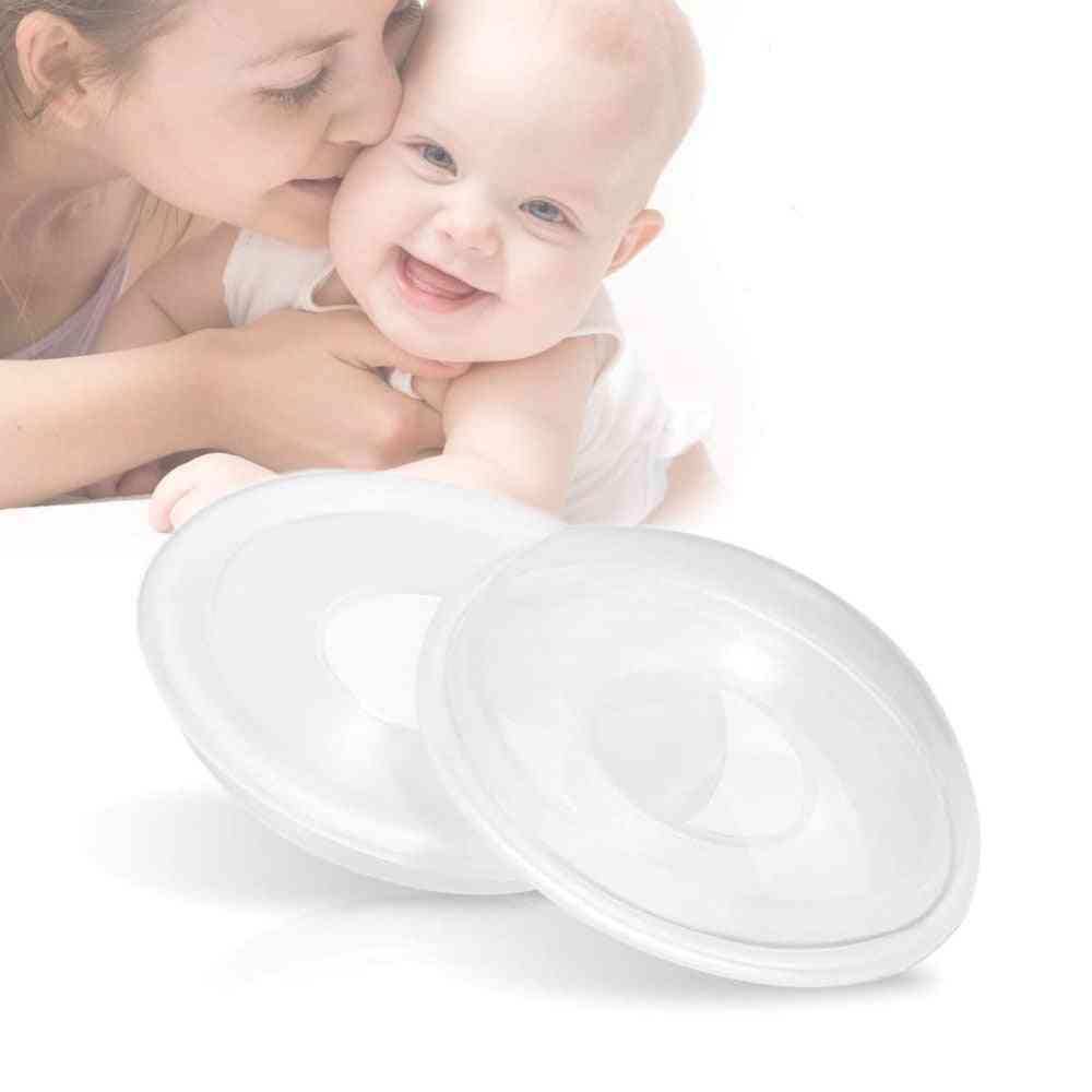 Portable, Bpa-free, Flexible Silicone Breast-milk Collector