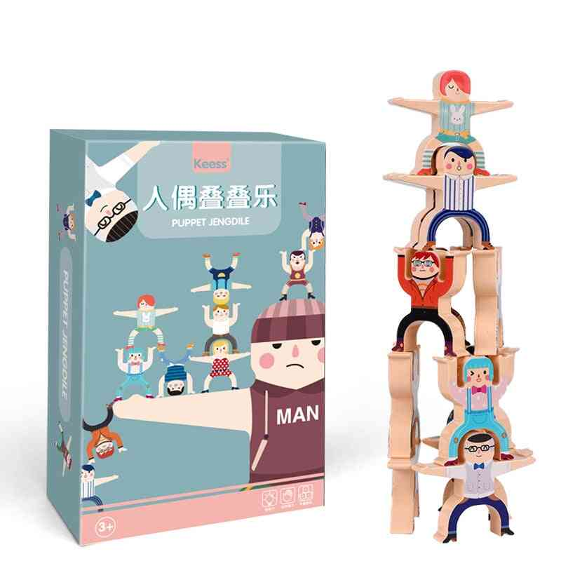 Children's Hercules Building Block Stacking Early Education