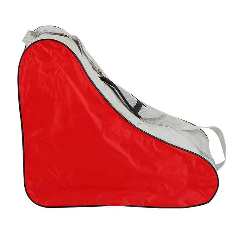 Traingle Shape Roller Skates Bag With Adjustable Shoulder Strip