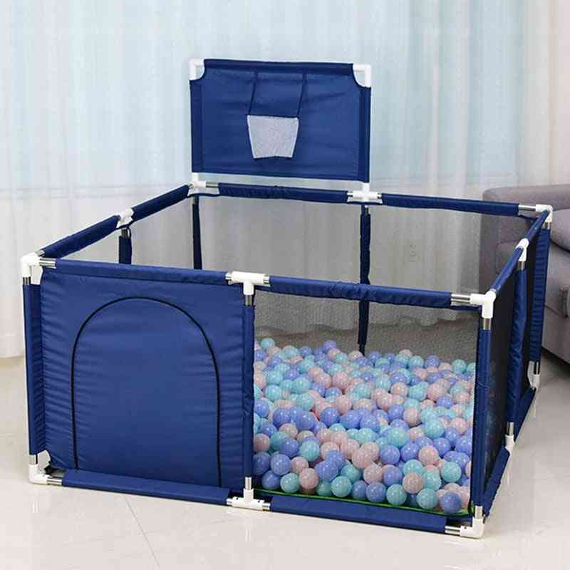 Baby Playpen Pool With Stainless Steel Safety Fence