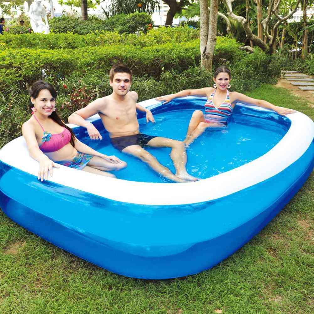 Inflatable Family Play Bathtub/swimming Pool