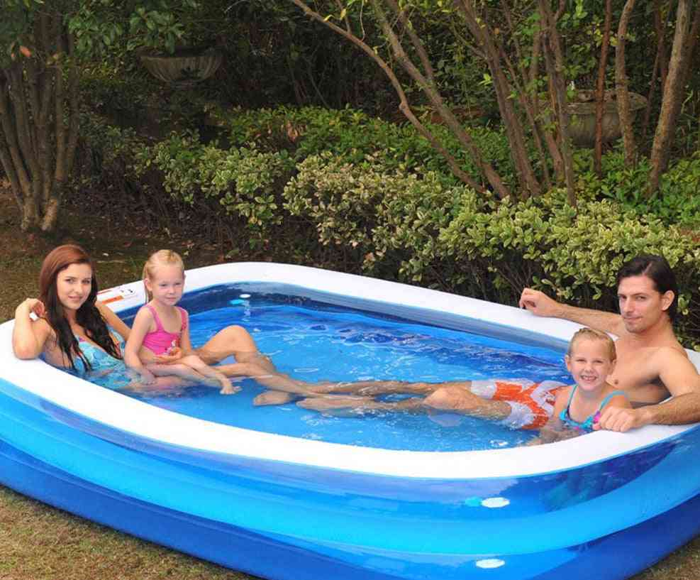 Rectangular Inflatable Swimming Pool For Family
