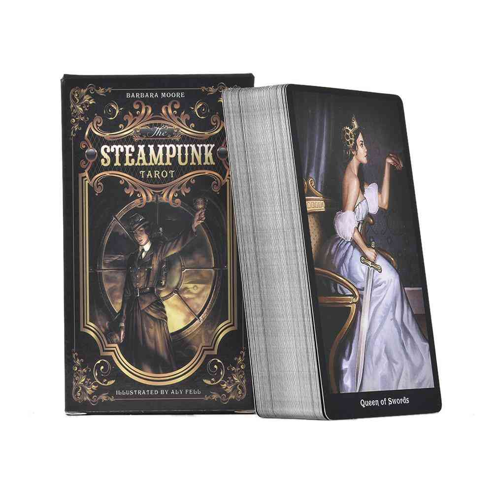 The Steampunk Tarot Card For Family Gathering/party