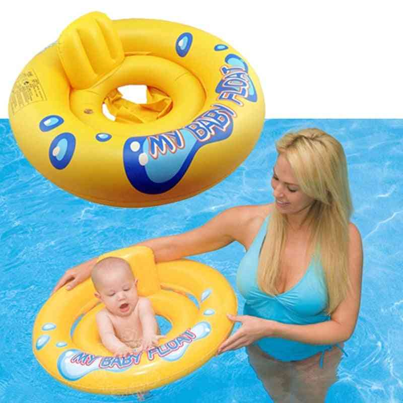 Swimming Pool Float Ring Inflatable Baby Seat