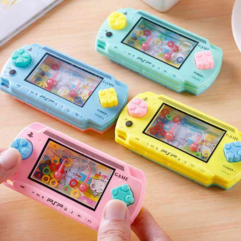 Handheld Water Game Machine Toy For Kid's Thinking Ability