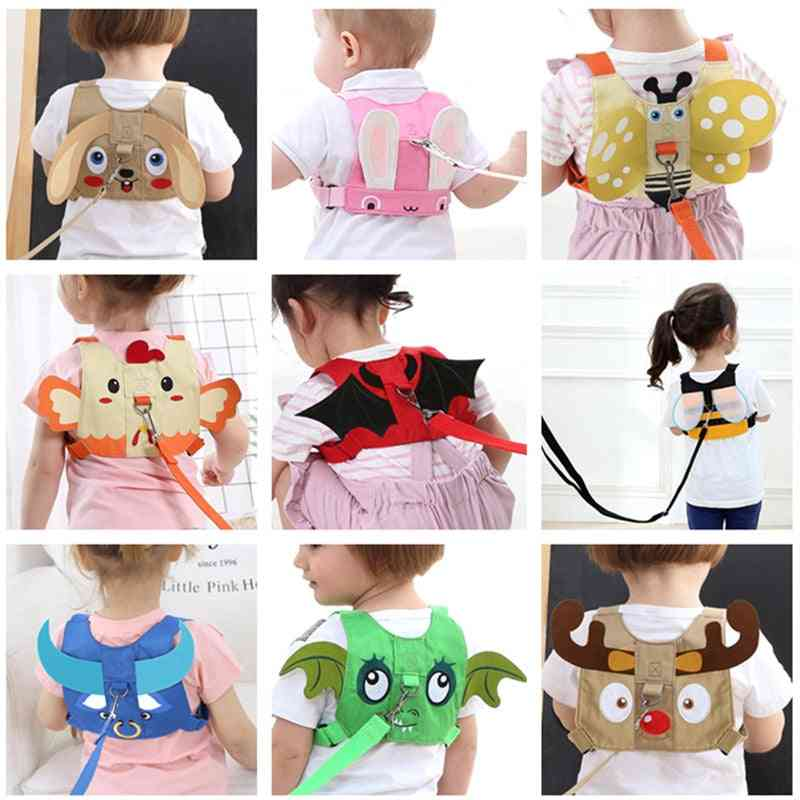 Cute Animal Pattern, Baby Safety Walk Belt-anti-lost Belt For Toddlers