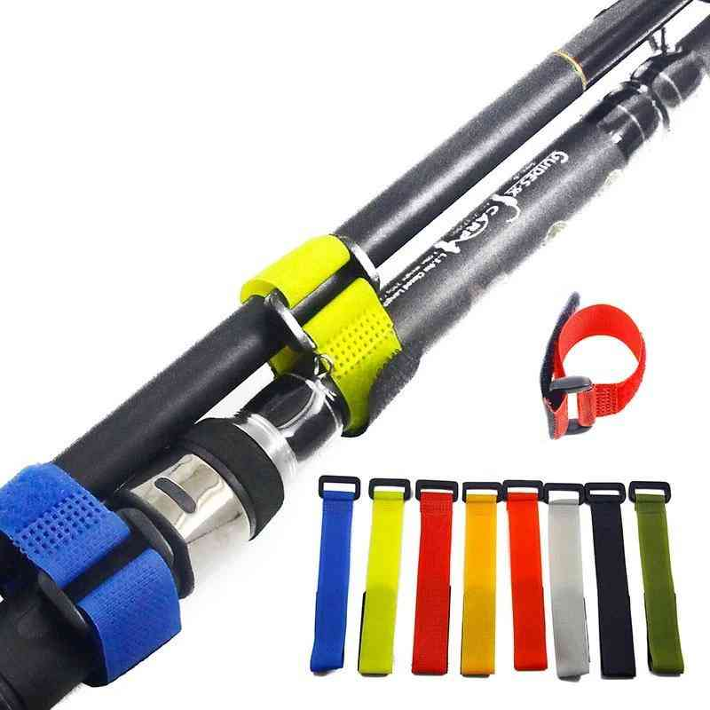 Holders Fastener Hook Loop Cable Cord Ties Belt Fishing Tackle