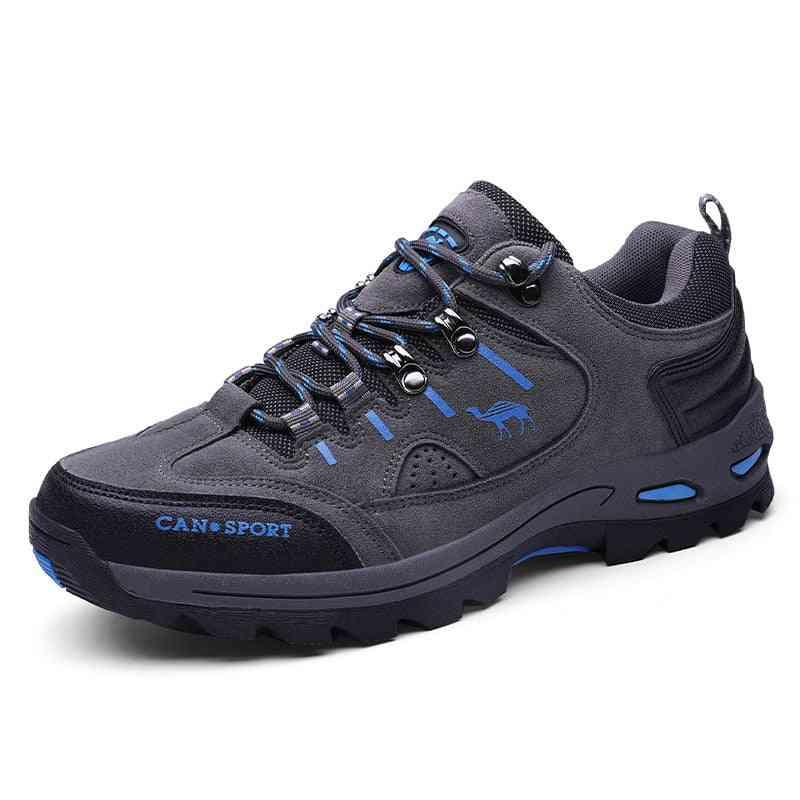 Men Hiking Shoes, Waterproof Autumn & Winter Sport Trekking Mountain Boots