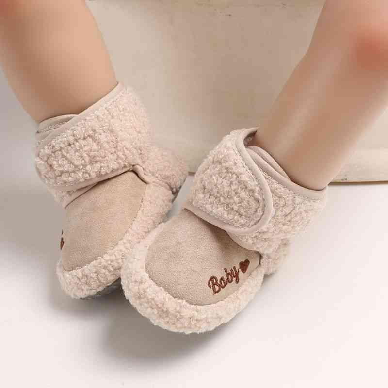 Winter Warm, First Walkers, Cotton Soft Sole, Indoor Shoes For Infant, Baby