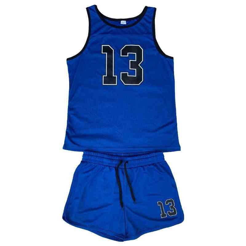 Sport Suits Running Sets, Mens Joggers Basketball Vest & Shorts