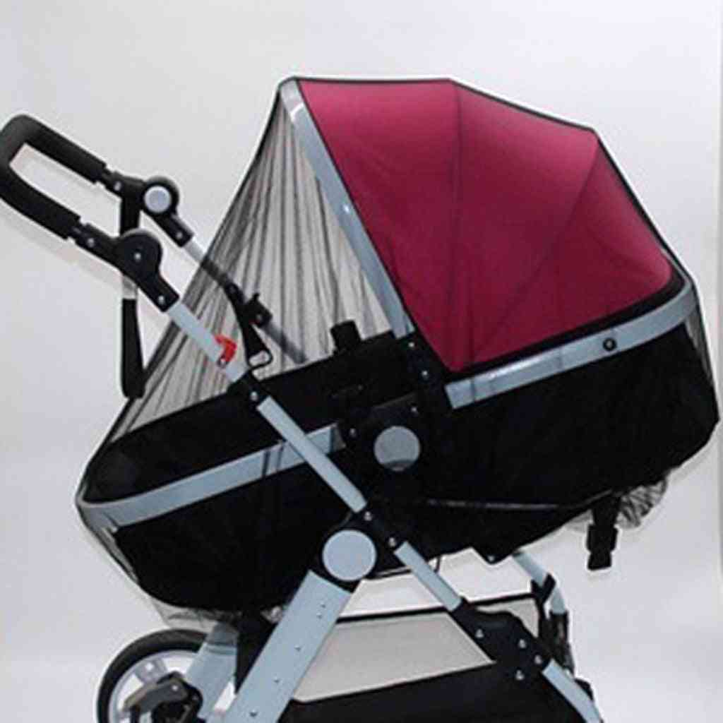 Stroller / Pushchair Mosquito Fly Insect Net,  Mesh Buggy Cover