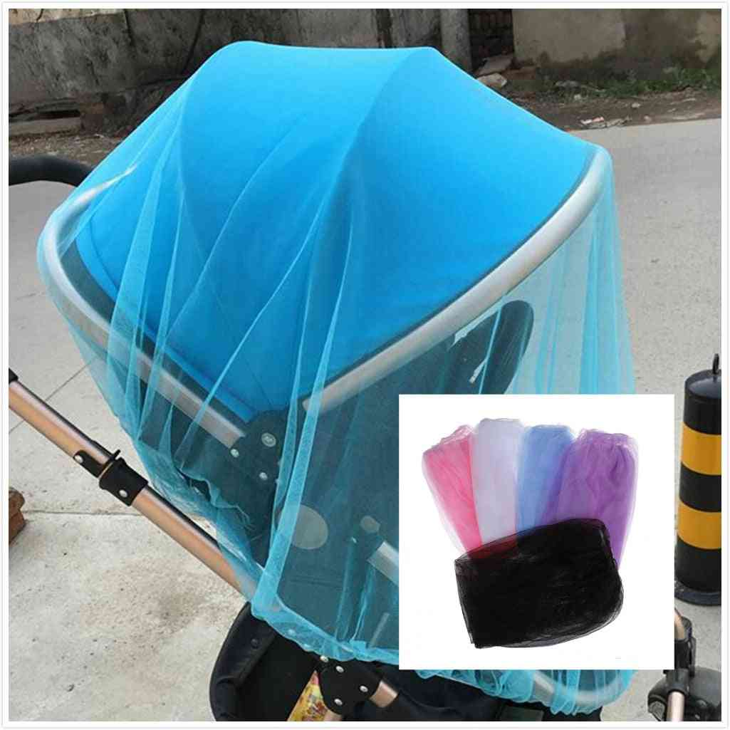 Baby Stroller Mosquito Insect Net, Crib Safe Mesh