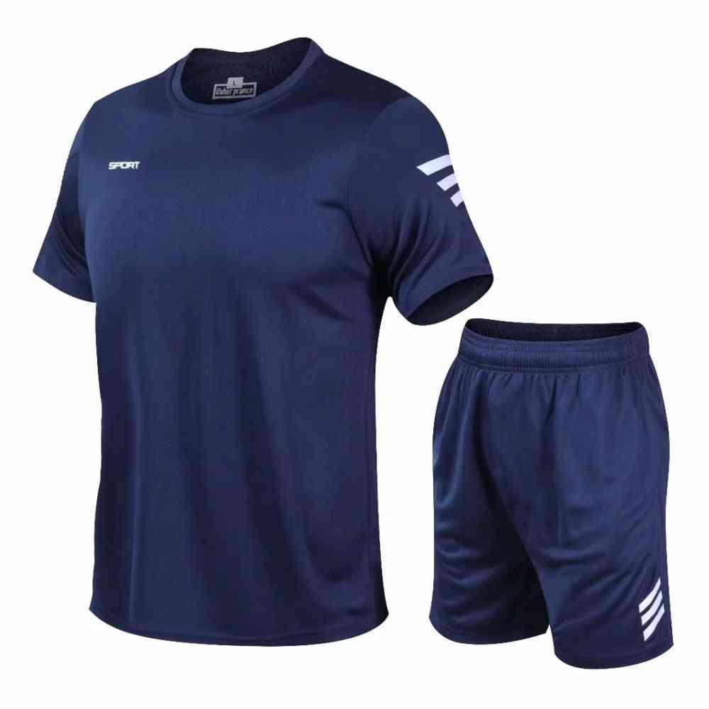 Men's Tracksuit, Gym Fitness Badminton Sports Suit Clothes