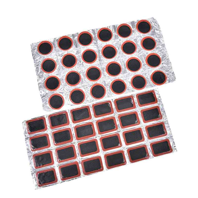 Bike Repair Kits, Tire Tube Rubber Puncture Patches Set, Cycling Patch Motor