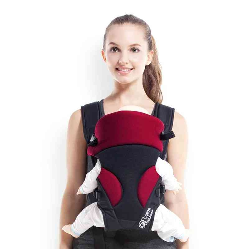 Baby Carrier, Backpack Wrap Front Carry - 3 In 1 Popular Breathable Kangaroo Pouch Sling