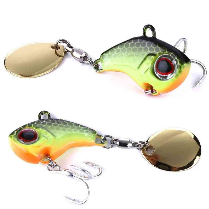 Vibration Bait Spinner Spoon Fishing Lures Trout Winter Fishings Hard Baits Tackle