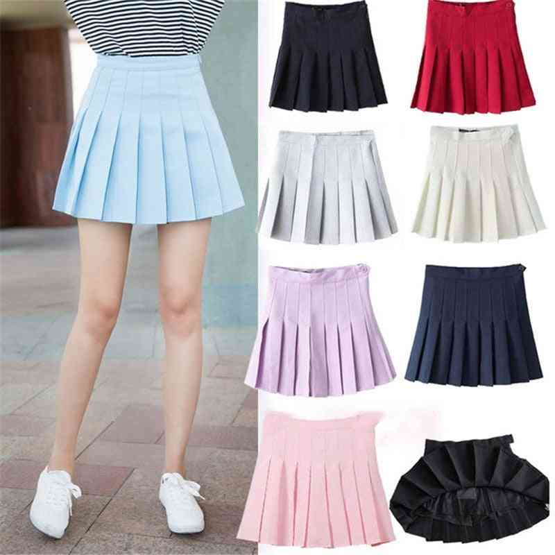 Sports/pleated, Breathable And Quick Drying Skirt