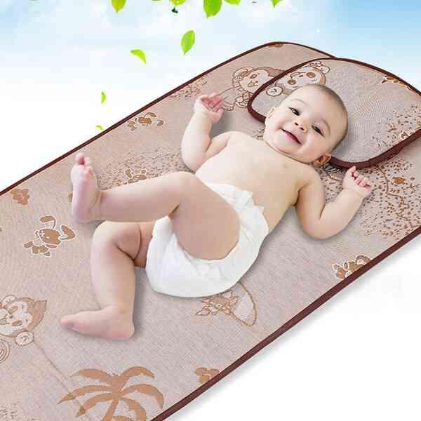 Infant Change Mat Cover, Cartoon Baby Waterproof Bed Mattress