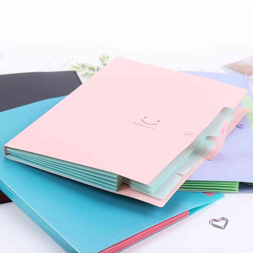 A4 5-pocket Expanding File Folders-document Organizer