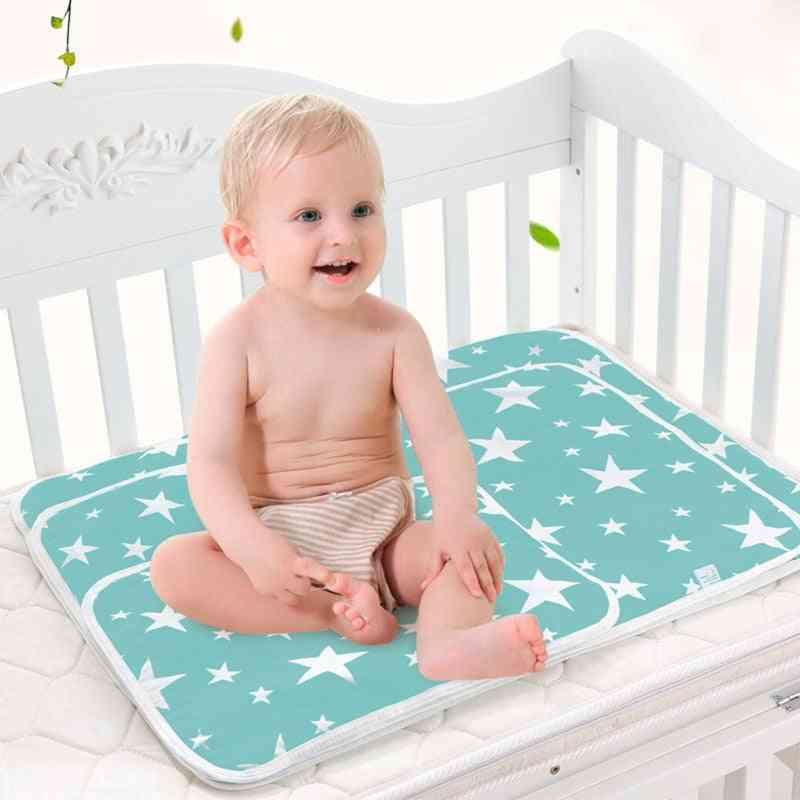 Baby Changing Mat, Portable Washable Waterproof Mattress