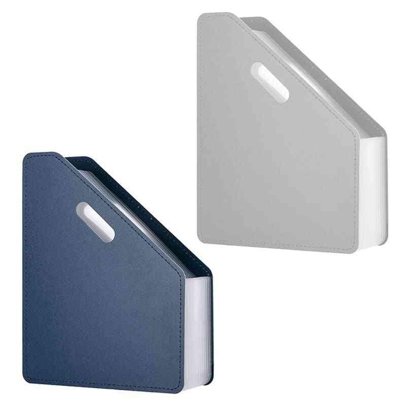 Pockets Desk File Folder Document Paper Organizer Storage Expanding Holder