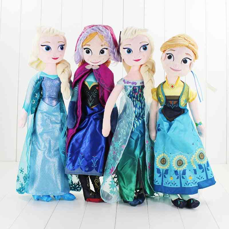 Frozen Elsa & Anna Princess Stuffed Plush Dolls For, Kids, Baby Christmas